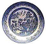 Churchill China Blue Willow Oatmeal Bowl 15.5cm