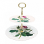 Roy Kirkham Redoute Rose 2 Tier Cake Stand