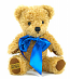 Merrythought Curly Gold 10inch Teddy Bear