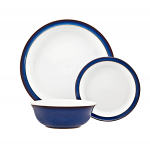 Denby Imperial Blue 12 Piece Tableware Set