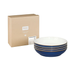 Denby Imperial Blue Pasta Bowl - Set of 4
