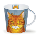 Dunoon Rogues Gallery - Ginger Cat Cairngorm Shape Mug Boxed