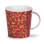 Dunoon Lomond Shape - Mantua Red Mug Boxed