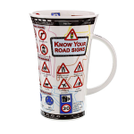 Dunoon Glencoe Shape Mug - Know Your Road Signs - Boxed