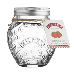 Kilner Strawberry Fruit Preserve Jam Jar 0.4 Litre