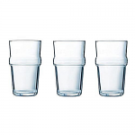 Luminarc Acrobate Stacking Hi-Ball Water Glass Tumblers 32cl - Set of 3