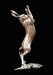 Bronze Hare Boxing Medium - Limited Edition of 150
