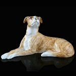 Fine Bone China Whippet Miniature by Keith Sherwin