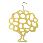 Scarf Hanger - Cream Tree