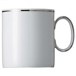 Rosenthal Thomas - Medaillon Platinum Band 2 mm Cup Mug 6 tall 8.0cm