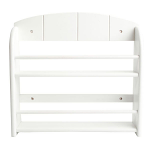 T&G - 12 Jar Spice Rack In White Painted Hevea