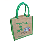 Jute Shopping Bag - Campervans are Great