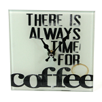 Coffee Glass Clock