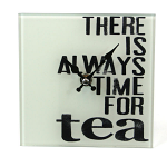 Tea Glass Clock