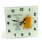 Beer Glass Clock