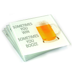 Beer Glass Coasters - Set of 4