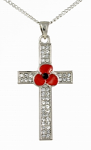Poppy Pendant - Cross