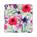 Denby Watercolour Floral Coasters Set of 6