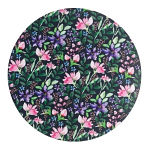 Denby Dark Floral Round Placemats Set of 6