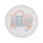 Denby Walled Garden Round Coasters Set of 6