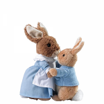 Mrs Rabbit & Peter by Gund