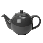 London Pottery Globe Teapot 6 Cup Granite Grey