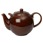 London Pottery Globe Teapot 10 Cup Rockingham Brown