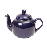 London Pottery Farmhouse Filter Teapot 4 Cup Cobalt Blue