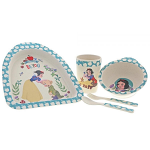 Disney Snow White Organic Bamboo Dinner Set