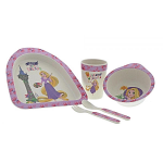Disney Rapunzel Organic Bamboo Dinner Set