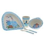 Disney Cinderella Organic Bamboo Dinner Set