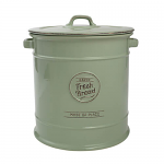 T&G Pride of Place Bread Crock in Old Green