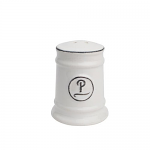 T&G Pride of Place Pepper Shaker in White