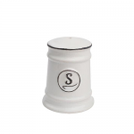 T&G Pride of Place Salt Shaker in White