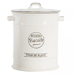T&G Pride of Place Biscuit Jar in White