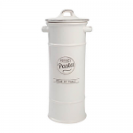 T&G Pride of Place Pasta Jar in White