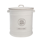 T&G Pride of Place Bread Crock in White