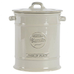 T&G Pride of Place Biscuit Jar in Cool Grey
