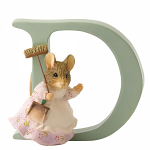 Beatrix Potter - Alphabet Letter D - Hunca Munca Sweeping