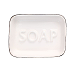 T&G - Ocean Soap Dish White