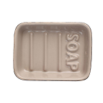 T&G - Ocean Soap Dish Taupe