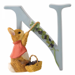 Beatrix Potter - Alphabet Letter N - Cotton Tail