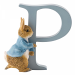 Beatrix Potter - Alphabet Letter P - Peter Rabbit Running