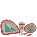 Beatrix Potter - Peter Rabbit Christmas Organic Dinner Set