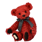 Deans - Amaryllis Teddy Bear - Mohair Plush - Limited Edition