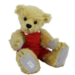 Deans - Freddie Teddy Bear - Mohair Plush - Limited Edition