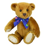 Deans - Fudge Teddy Bear - Mohair Plush - Limited Edition