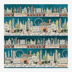 Emma Bridgewater - Napkins - Luncheon - London at Night 1CTY020611