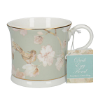 Creative Tops Palace Fine Bone China Mug -  Duck Egg Floral