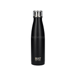 Built Double Walled Stainless Steel Water Bottle 17oz Black